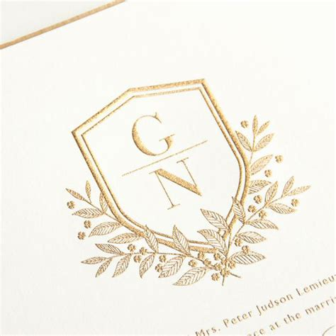 Wedding Monogram by 5 Monogram Wedding Ideas You Will