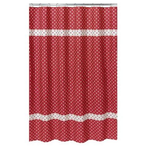 bright red shower curtain alpha omicron pi decor july 2009