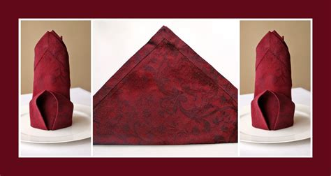 servietten deko servietten falten hochzeit deko ideen