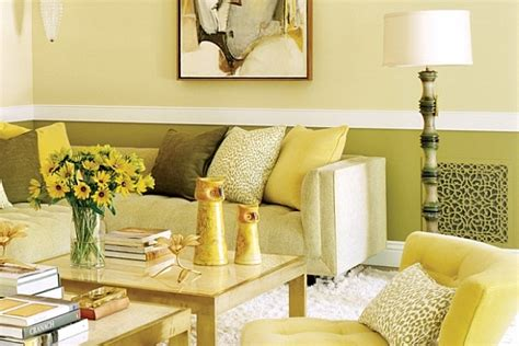 Yellow Themed Living Room Magnificent Home In Beverly Charms With Its Use Of