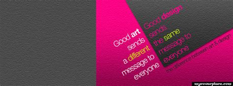 the difference between art and design anderley inspirational quote art facebook cover