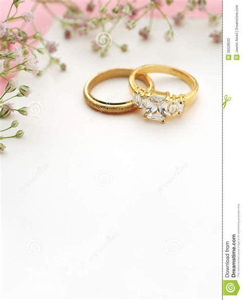 Blank Engagement Invitation Cards