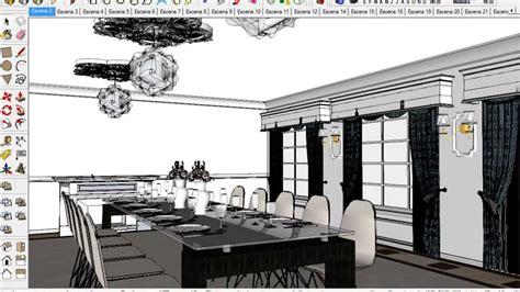 tutorial sketchup con vray tutorial iluminaci 243 n interna nocturna con vray en sketchup
