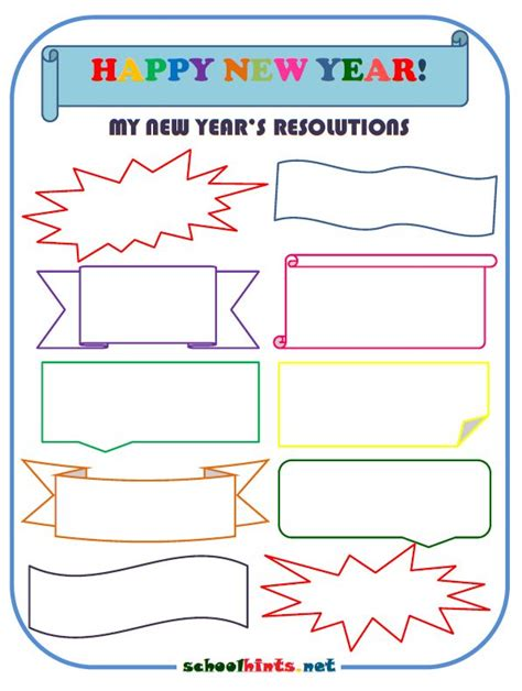 new year worksheets for adults 1000 images about school hints free worksheets on