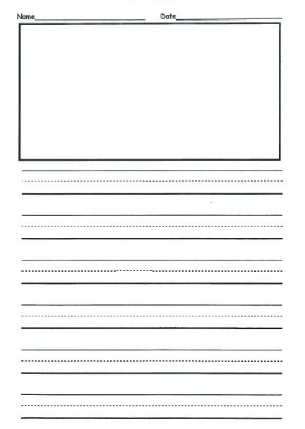 printable 2nd grade writing paper paragraph writing worksheets for 1st grade our 3