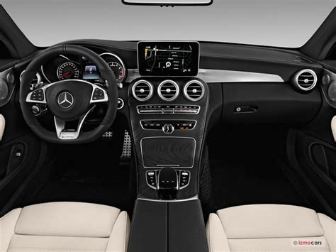 mercedes dashboard 2017 2017 mercedes c class interior u s report