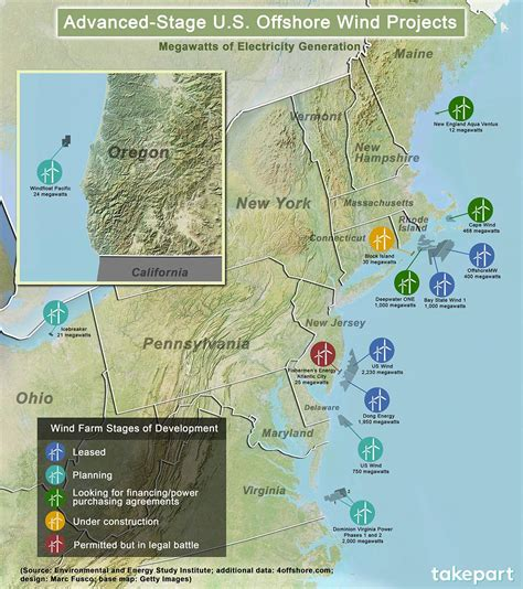 wind power map usa new york to make on the promise of offshore wind