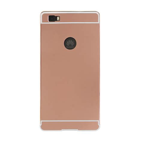 luxury metal bumper mirror back cover skin for