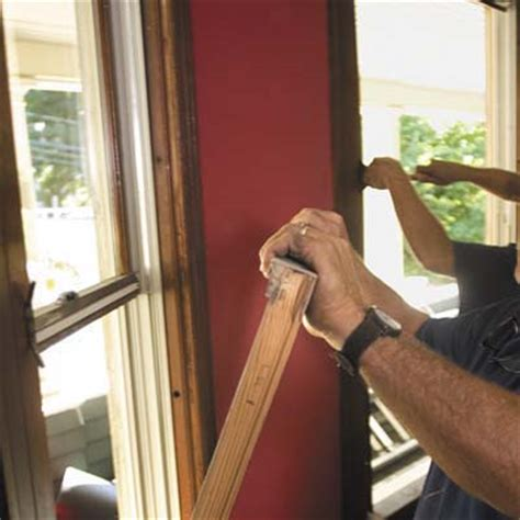 how to remove a house window take out the sash how to install replacement windows this old house