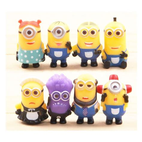 Set Minion despicable me the minions 8 set only 4 80