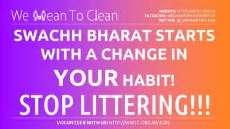 What are some of the best slogans and posters for swach bharat