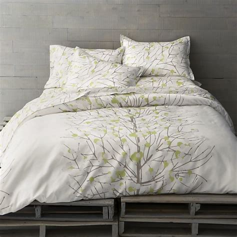 Modern Print Duvet Covers marimekko lumimarja celery duvet cover modern duvet covers and duvet sets by crate barrel