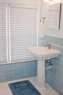 Gallery for gt vintage blue bathroom tile