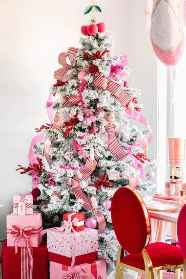 pink christmas trees gorgeous pink tree ideas   holidays