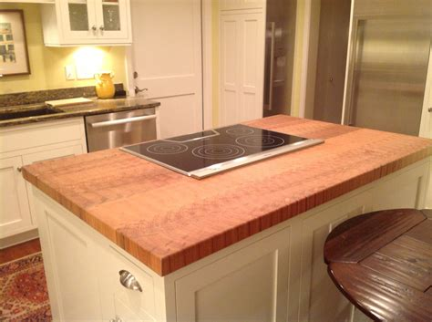 kitchen island tops custom maple butcher block kitchen island counter top