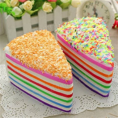Squishy Rainbow Bread by Squishy Rainbow Cake Toast Brood Rising