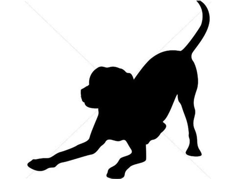 dog silhouette tattoo silhouette next i printed the silhouette at
