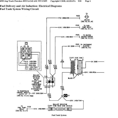 94 fuel diagram repair wiring scheme