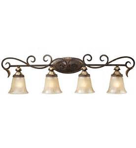 Elk Vanity Lighting Elk Lighting Regency Burnt Bronze 4 Light Bath Vanity Light Ls