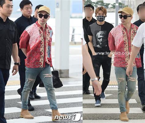 Celana Yg Bagus terbang ke tiongkok taeyang til ganteng pakai baju batik kabar berita artikel