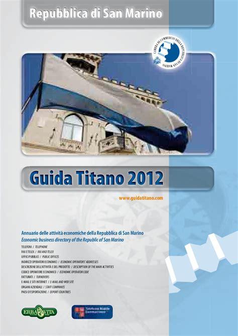 di commercio san marino guida titano by san marino chamber of commerce by