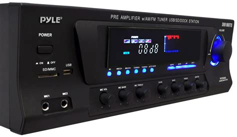 pyle home 300w stereo receiver am fm tuner usb sd ipod