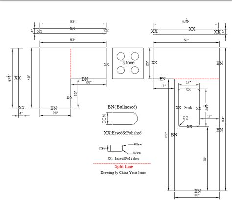 kitchen countertop dimensions kitchen drawing kitchen vanity top drawing kitchen countertop drawing