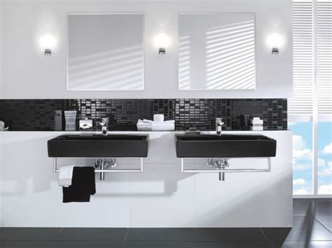 badezimmer ideen schwarz weiß modernes badezimmer ideen zur inspiration 140 fotos