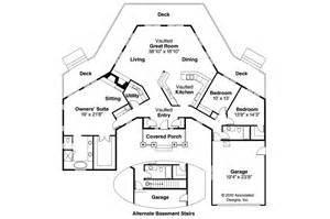 Craftsman Floor Plan by Craftsman House Plans Vista 10 154 Associated Designs