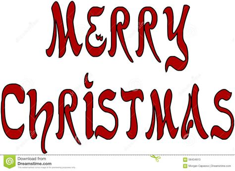 weihnachtsbaum auf englisch frohe weihnachten geschrieben auf englisch vektor
