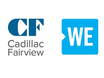 Cadillac Fairview by Cadillac Fairview Welcomes New We Store At Cf Rideau Centre