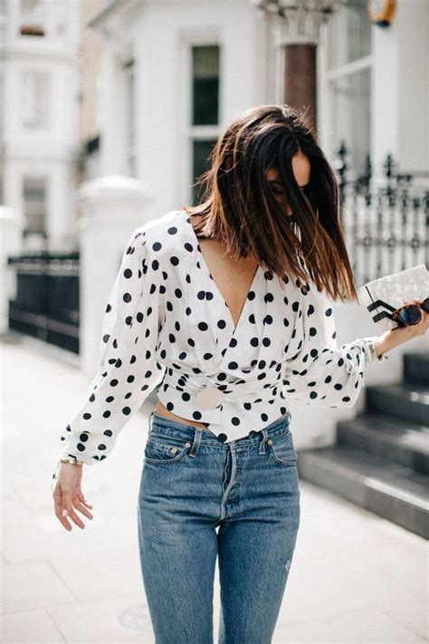 Okana Polka Top Fashion 1825 best images about beautiful style on rompers shoulder tops and cold