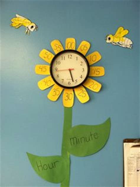 themes clock flower cing theme crafts at daycare pinterest preschool