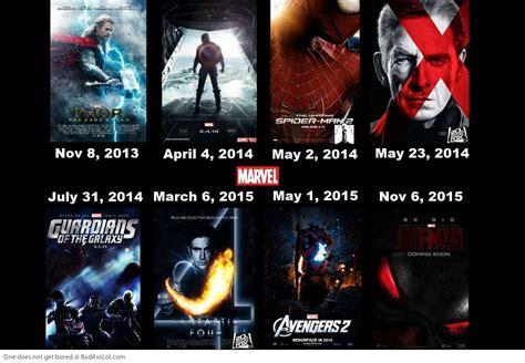 marvel film new releases marvel upcoming movies timeline badasslol com