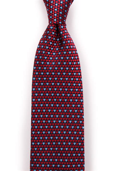 silk pattern website father s unique tie textured heart pattern silk tie in