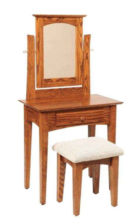 shaker style vanity dressing table  mirror