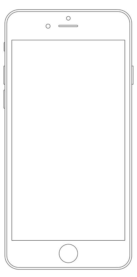 Latest Collection Of Iphone Wireframe Psds Wireframes 187 Css Author Iphone Wireframe Template