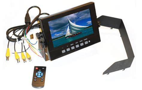 rugged monitor waterproof monitor marine monitors rugged cams