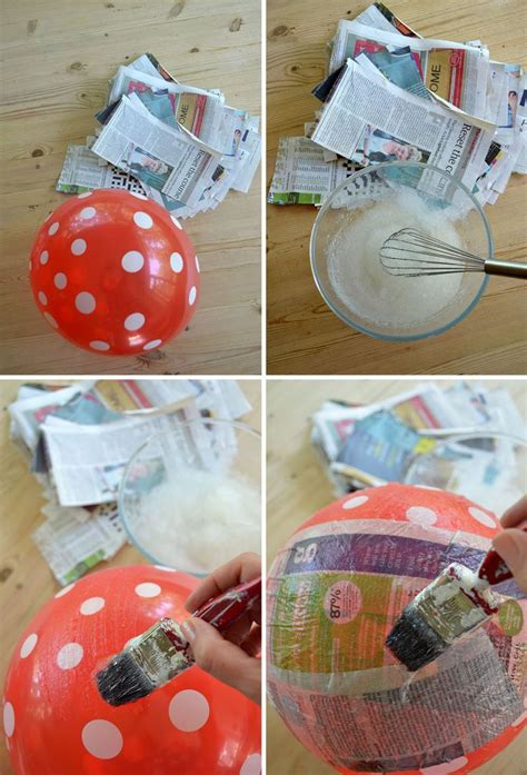 Make A Paper Lshade - paper mache japanese style diy l shade use white
