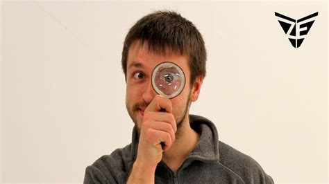 How To Make A Magnifying Glass Out Of Paper - how to make magnifying glass out of a bottle easy