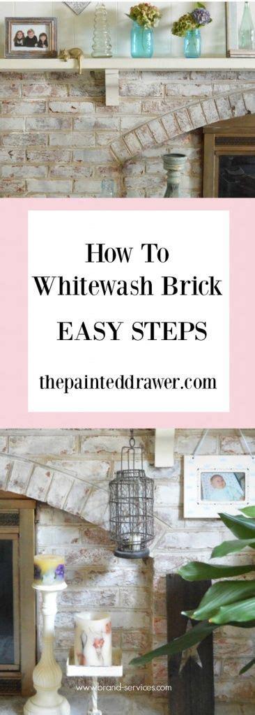 whitewashing bob vila 25 best ideas about how to whitewash brick on pinterest