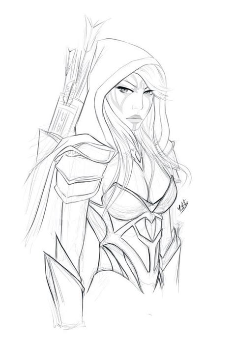 Dota 2 Sketches by Dota 2 Drawing At Getdrawings Free For Personal Use