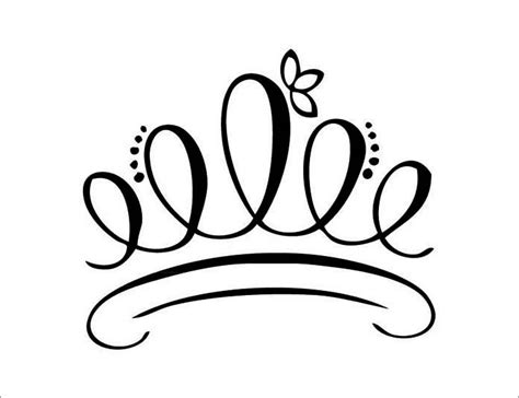 printable queen of hearts crown crown logo coloring pages