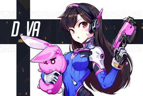 Anime D by D Va Overwatch Zerochan Anime Image Board