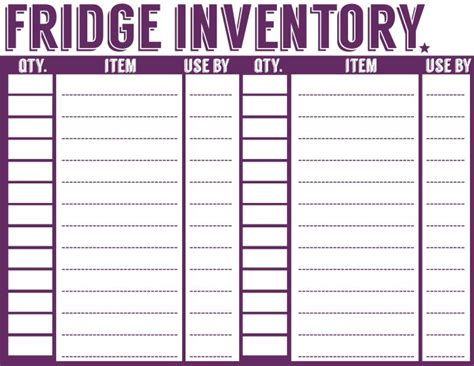printable grocery list to put on my fridge laminate and 17 best ideas about pantry inventory on pinterest pantry