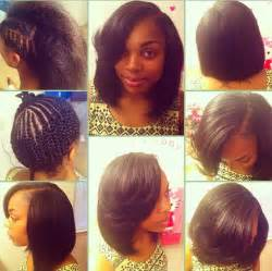 sew in bob hairstyles for black sew in short bob hair pinterest bobs protective