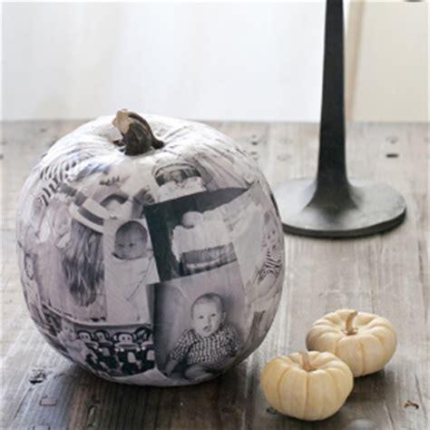 Unique Decoupage Ideas - unique photo decoupage pumpkin allfreeholidaycrafts