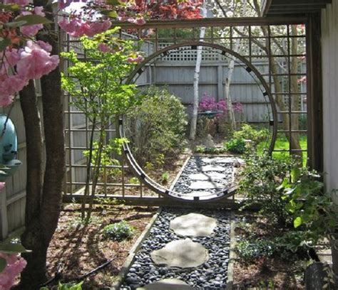 Oriental Dining Room Set a moon gate for your garden nifty homestead