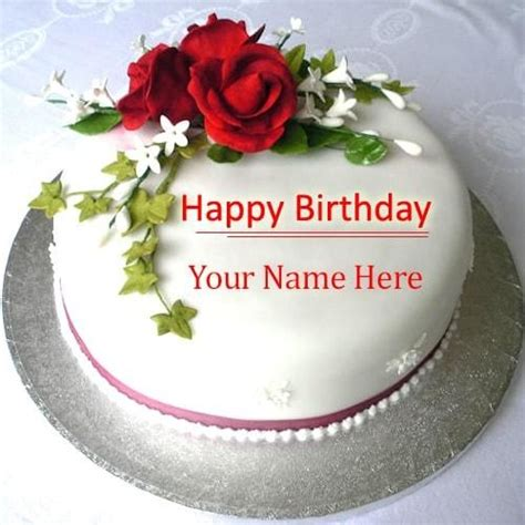 Happy Birthday Cards With Name Edit 40 Best Images About Happy Birthday Cakes On Pinterest