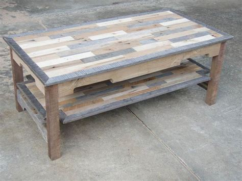 Wooden Pallet Coffee Tables Pallet Wood Coffee Table Series Knotthead Nate Custom Woodworking Projects To Try